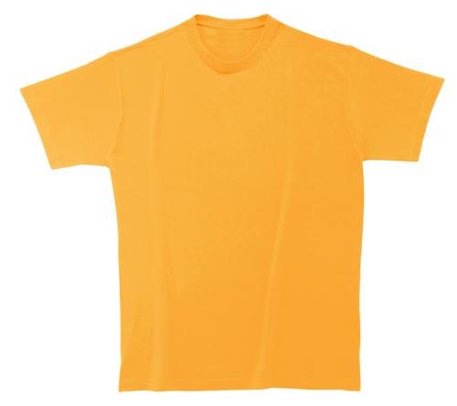 Bavlněné dětské tričko 185 g světle oranžové