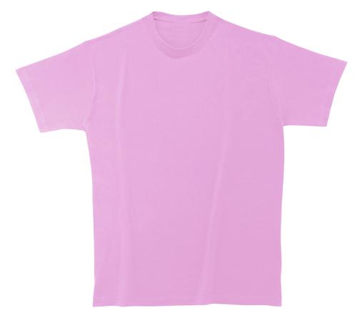 Bavlněné dětské tričko 185 g světle růžové