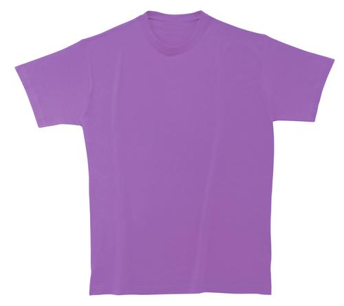 Bavlněné dětské tričko 185 g světle fialové