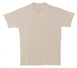 Bavlněné dětské tričko 185 g světle béžové