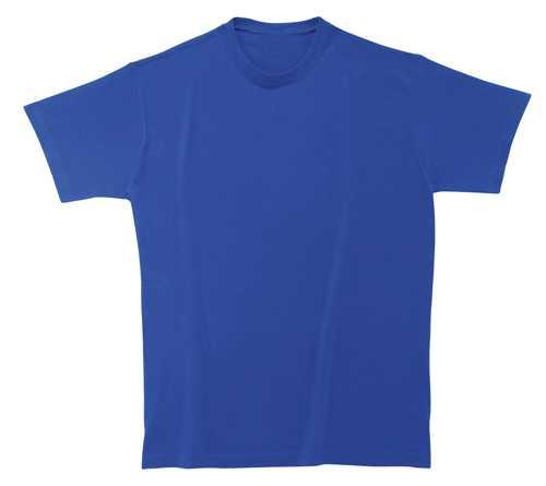 Softstyle Mens tričko modré