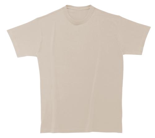 Softstyle Mens tričko béžové