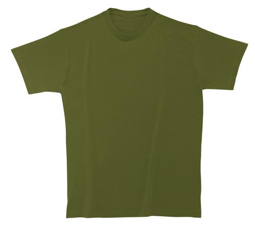 Softstyle Mens tričko khaki