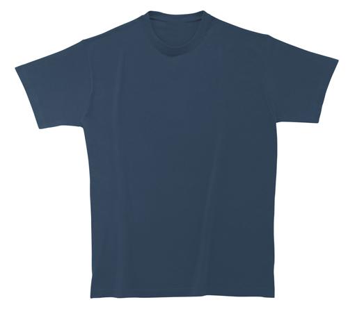 Softstyle Mens tričko matně modré