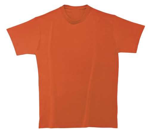 Softstyle Mens tričko matně oranžové