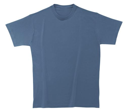 Softstyle Mens tričko nebesky modré