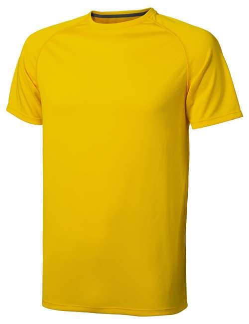 Niagara CoolFit triko žluté s potiskem