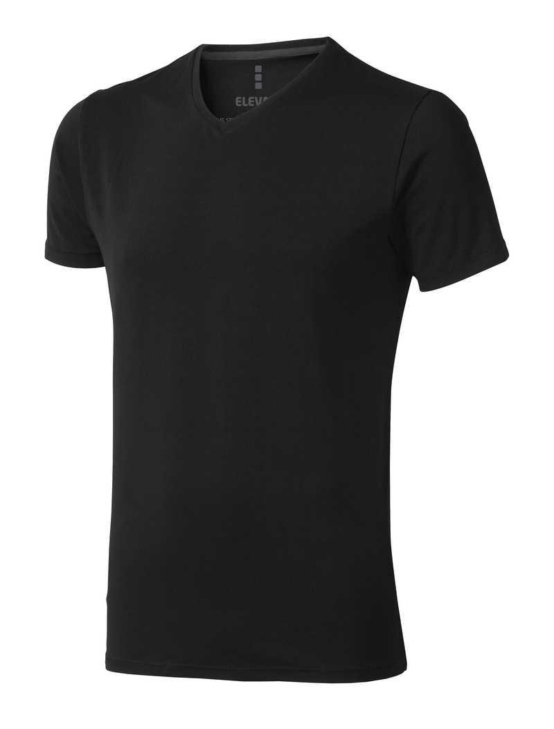 Kawartha černé triko V-výstřih