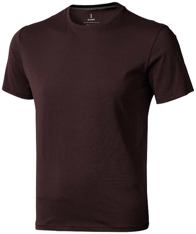 Nanaimo triko Elevate 160 g hnědé s potiskem