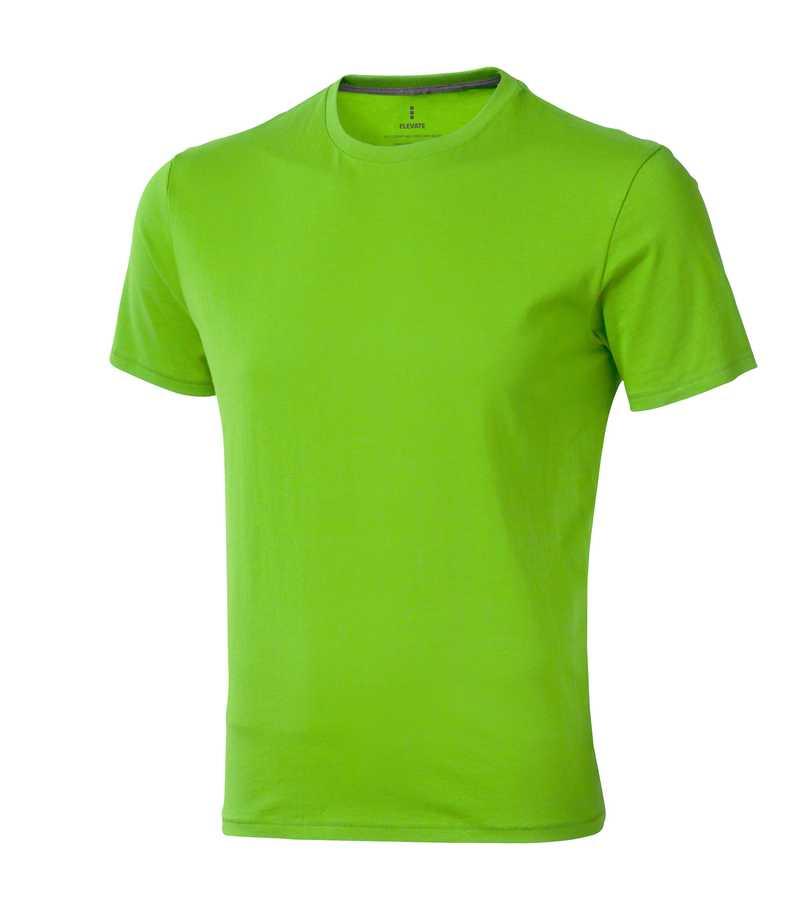 Nanaimo triko Elevate 160 g zelené s potiskem
