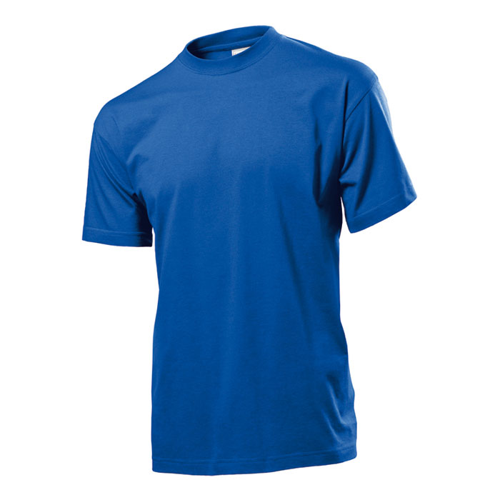 Pánské tričko Stedman 155 modré s potiskem