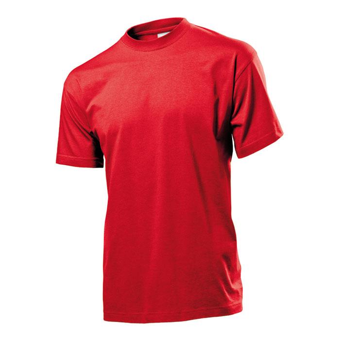 Pánské tričko Stedman 155 červené