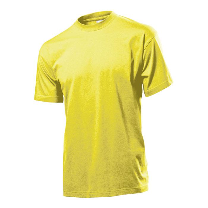 Pánské tričko Stedman 155 žluté