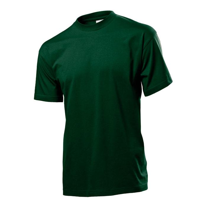 Pánské tričko Stedman 155 tmavě zelené