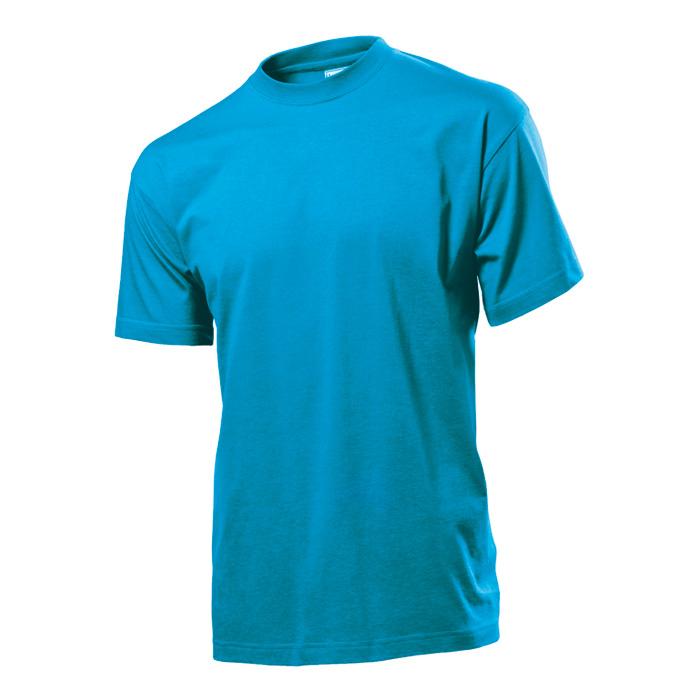 Pánské tričko Stedman 155 nebesky modré