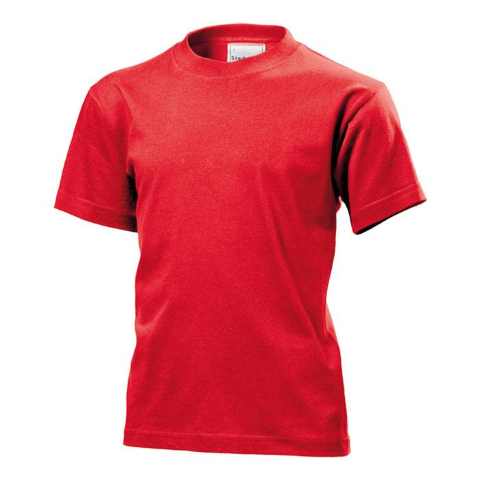 Dětské tričko Stedman 155 červené