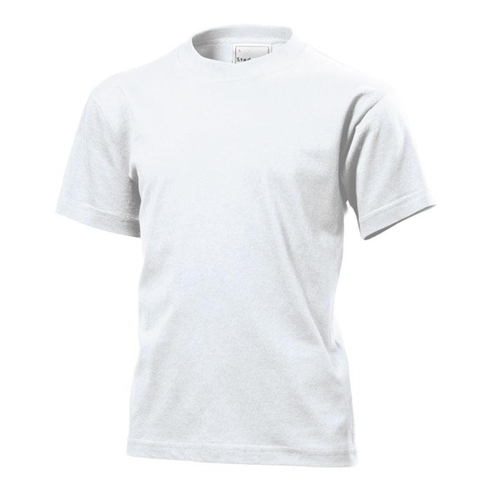 Dětské tričko Stedman 155 bílé