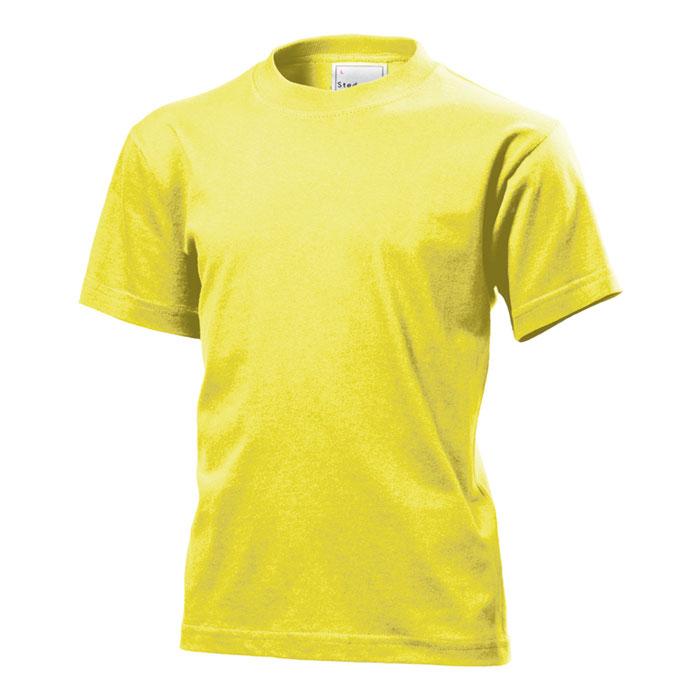 Dětské tričko Stedman 155 žluté