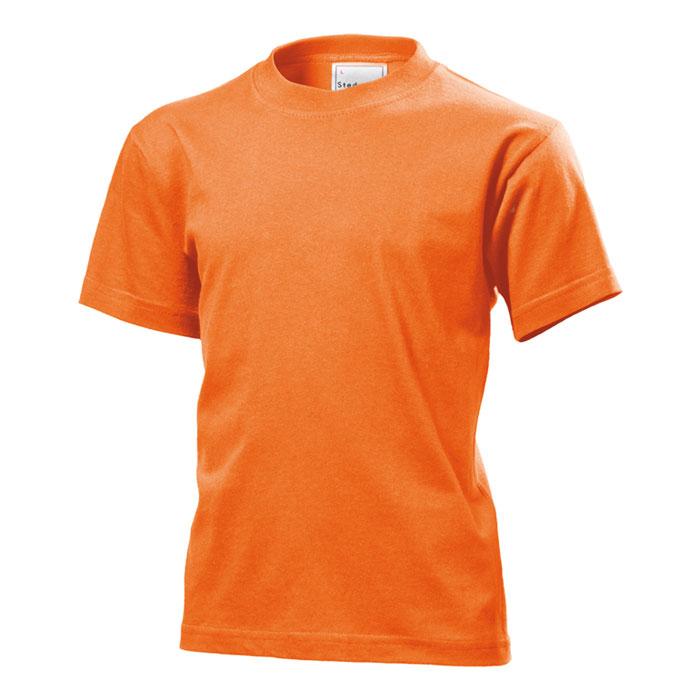 Dětské tričko Stedman 155 oranžové