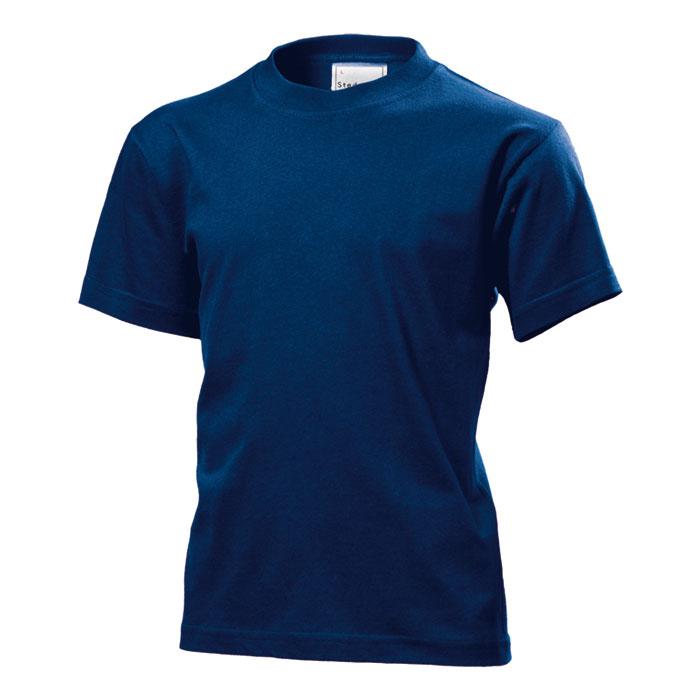 Dětské tričko Stedman 155 tmavě modré s potiskem