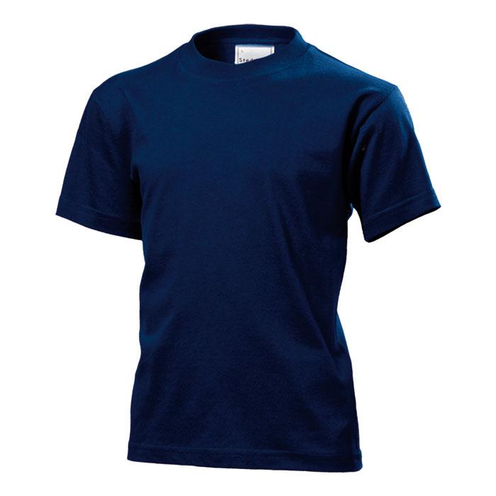 Dětské tričko Stedman 155 matně modré