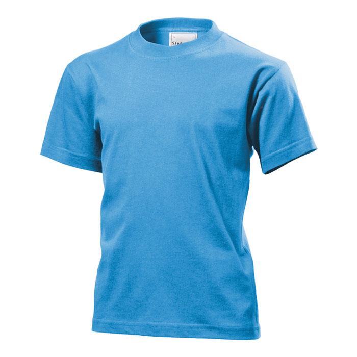 Dětské tričko Stedman 155 světle modré