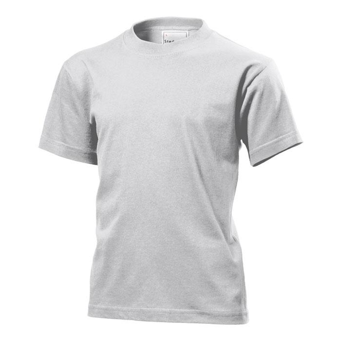 Dětské tričko Stedman 155 světle šedé