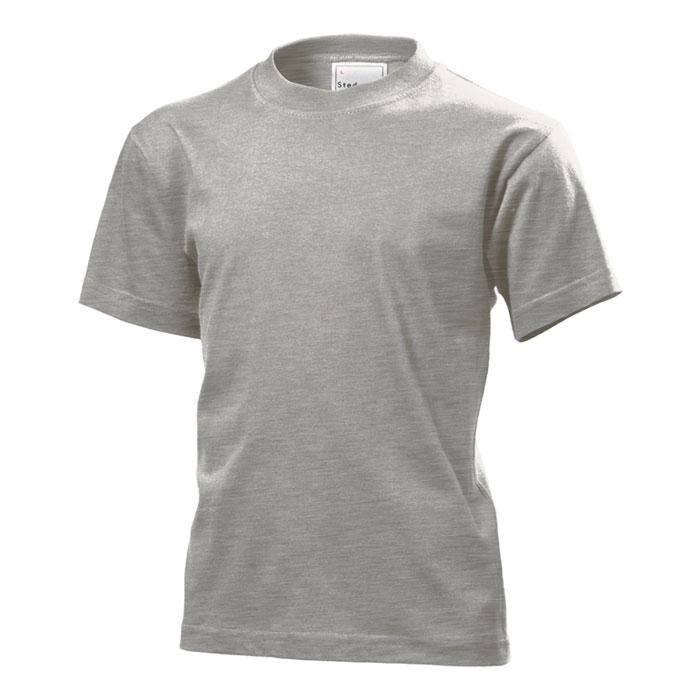 Dětské tričko Stedman 155 šedý melír