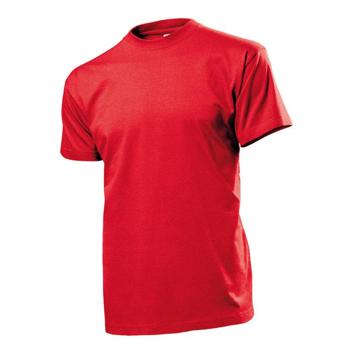 Pánské tričko Stedman 185 červené