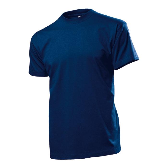 Pánské tričko Stedman 185 tmavě modré s potiskem