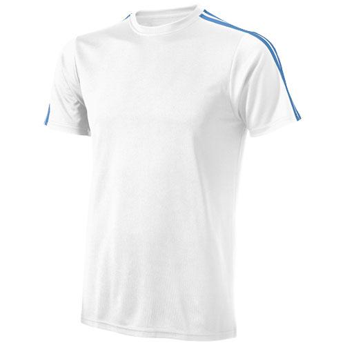 CoolFit triko Baseline bílo-modré