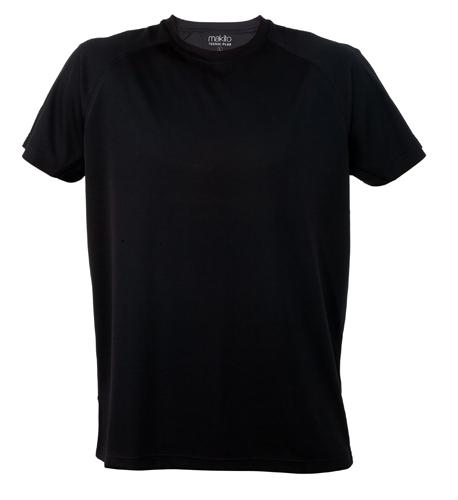 Černé Tecnic Plus T tričko, pracovní oděv pro dospělé