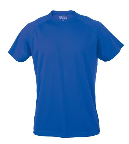 Modré Tecnic Plus T tričko, pracovní oděv pro dospělé s potiskem