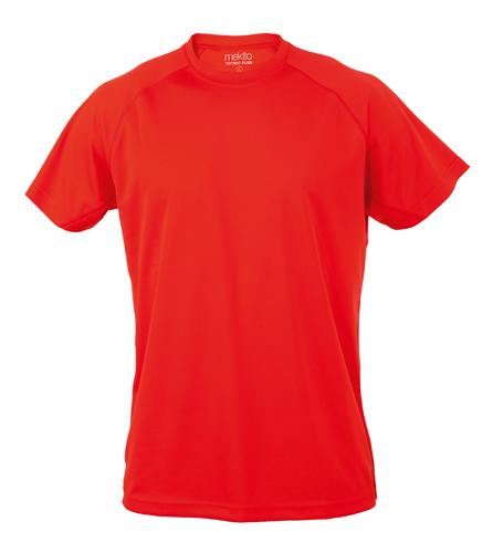 Červené Tecnic Plus T tričko, pracovní oděv pro dospělé