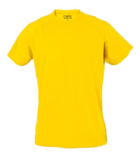 Žluté Tecnic Plus T tričko, pracovní oděv pro dospělé