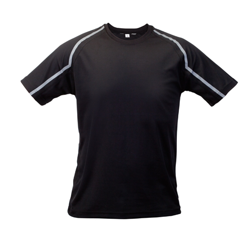Fleser černé tričko