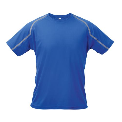 Fleser modré tričko s potiskem