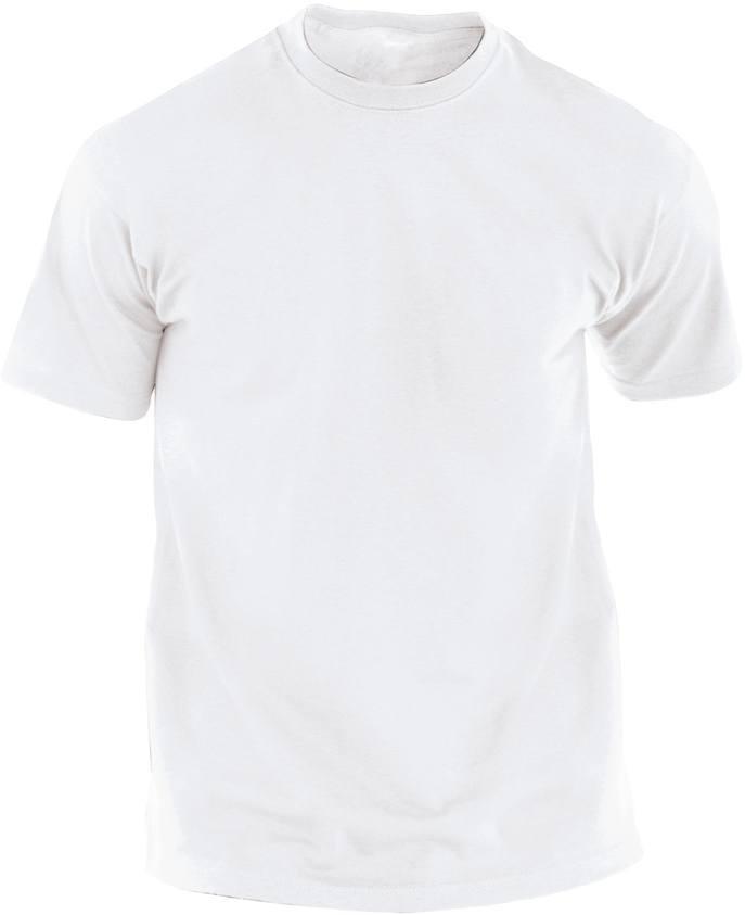 Hecom bílé tričko pro dospělé