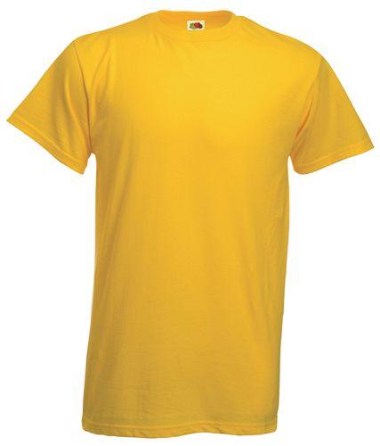 Heavy-T tričko žluté s potiskem