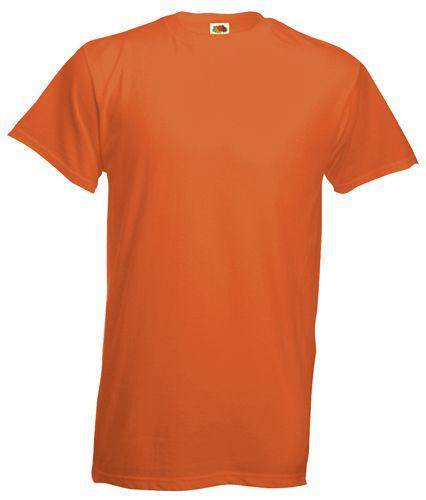 Heavy-T tričko oranžové