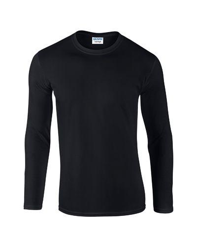 Softstyle Long Sleeve tričko s dlouhým rukávem