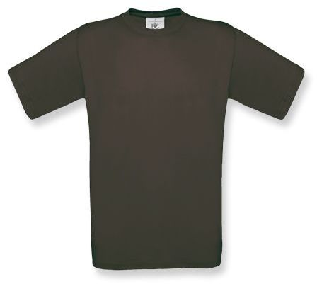 EXACT unisex tričko, 145 g/m2, BC, hnědá