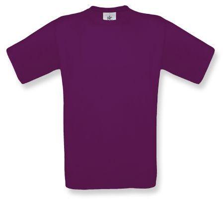 EXACT unisex tričko, 145 g/m2, BC, bordó