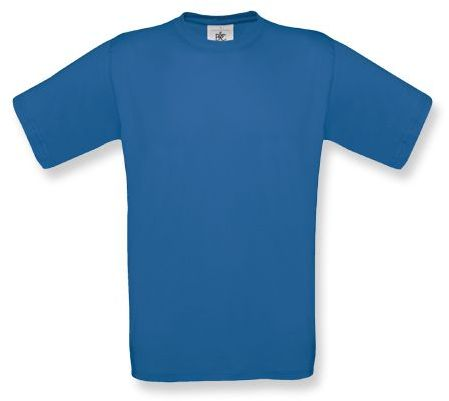 EXACT unisex tričko, 145 g/m2, BC, modrá