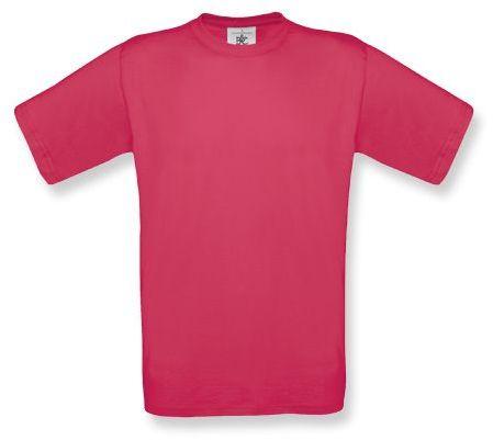 EXACT unisex tričko, 145 g/m2, BC, růžová
