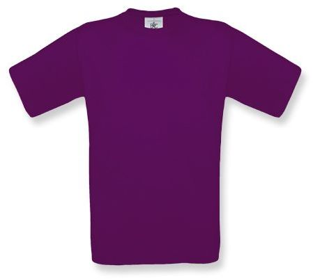 EXACT unisex tričko, 145 g/m2, BC, fialová