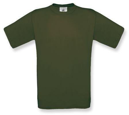 EXACT unisex tričko, 145 g/m2, BC, khaki