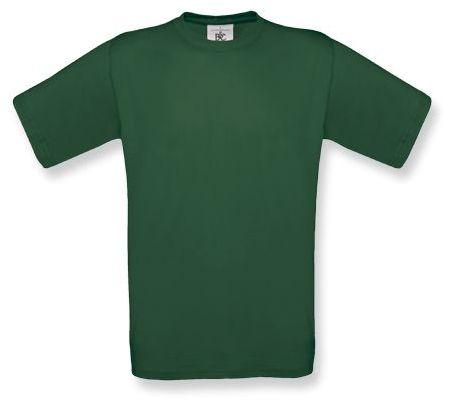 EXACT unisex tričko, 145 g/m2, BC, tmavě zelená