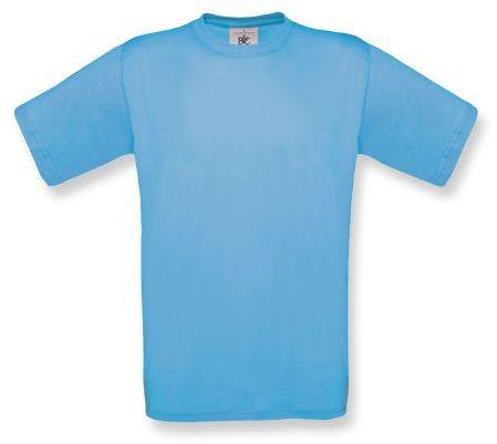 EXACT unisex tričko, 145 g/m2, BC, světle modrá