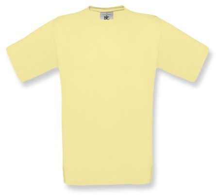 EXACT unisex tričko, 145 g/m2, BC, světle žlutá